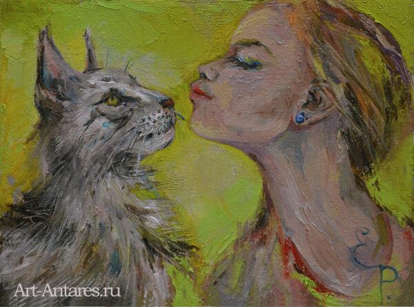 Мейн кун. Кошка.