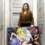 Серия картин женских образов.